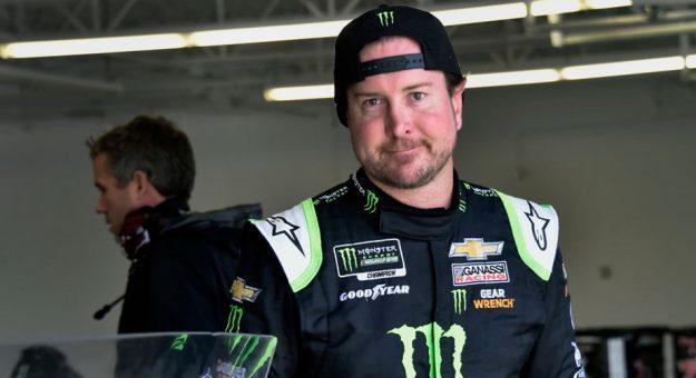 Kurt Busch at Las Vegas test
