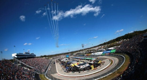 Full schedule for Martinsville