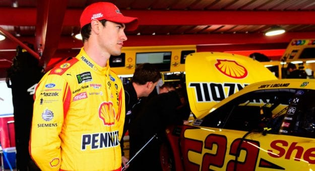 Joey Logano at Martinsville