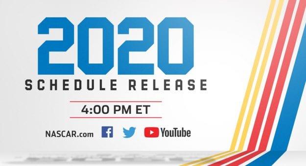 Nascar 2020 Schedule.Nascar Digital To Unveil 2020 Cup Schedule In Live Show