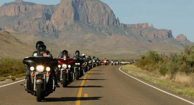 Riders cross wide-open spaces in the West on the annual Kyle Petty Charity Ride Across America