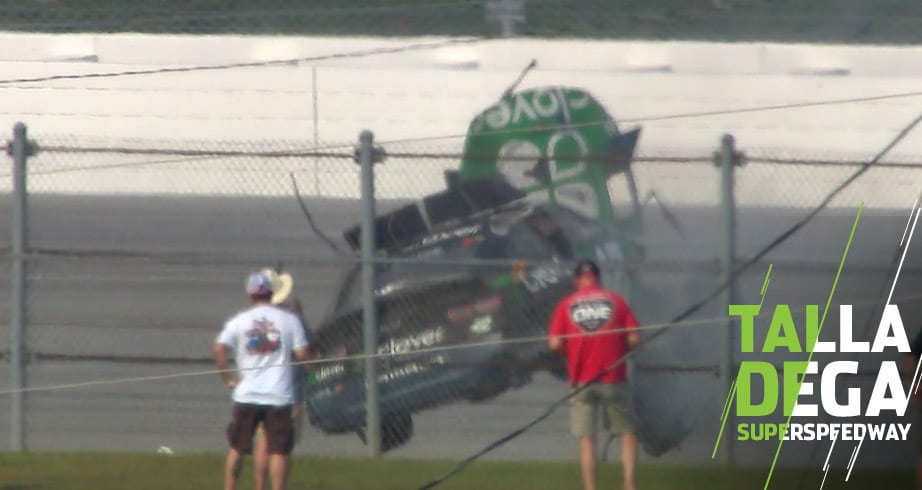 Kyle Larson flips on final lap in chaotic multi-car wreck