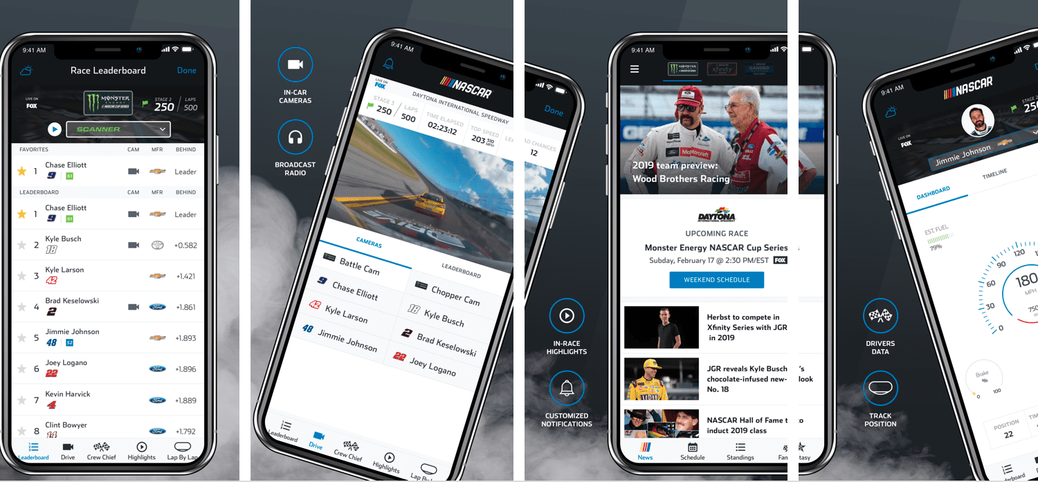 Download the Official App of NASCAR!