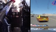 Fancy feet: Kevin Harvick's foot cam from Sonoma