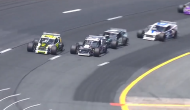 Relive the thrilling final lap of the Whelen Modified Tour All Star Shootout at New Hampshire