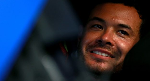 DAYTONA BEACH, FLORIDA - JULY 04: Kyle Larson, driver of the #42 Credit One Bank Chevrolet, sits in garage during practice for the Monster Energy NASCAR Cup Series Coke Zero Sugar 400 at Daytona International Speedway on July 04, 2019 in Daytona Beach, Florida. (Photo by Sean Gardner/Getty Images) | Getty Images