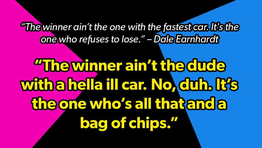 Darlington throwback: \'90s-ifying famous NASCAR quotes ...