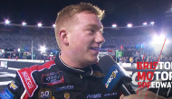 Reddick speechless, overjoyed after Bristol victory