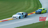Cindric makes contact with Allmendinger at Road America