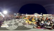 Las Vegas 360 19 Team Pulling Into Victory Lane
