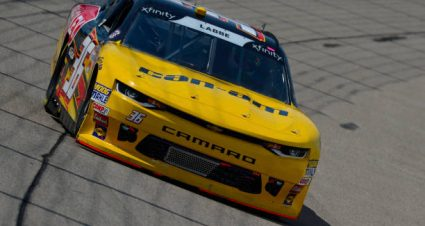 Alex Labbe drives No. 90 Chevrolet Camaro to sixth-place finish at Charlotte Motor Speedway Road Course