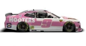 Chase Elliott Hooters Car Dover Main