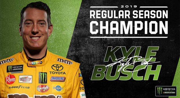 Kyle Busch Regular Season Champion