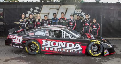 Ten drivers compete in NASCAR Drive for Diversity combine