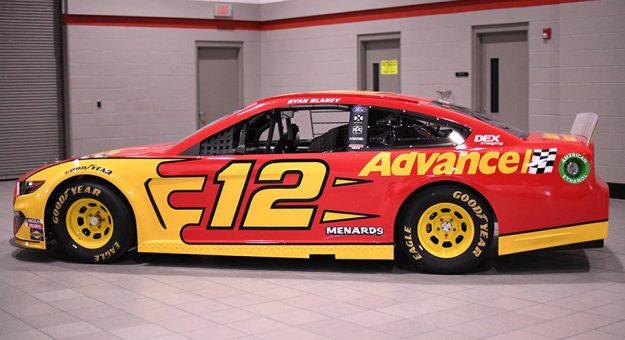 Advance Auto Parts To Sponsor Ryan Blaney In 2020 Nascar Com