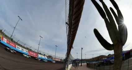 John H. Nemechek drives No. 23 Chevrolet Camaro to fourth-place finish at ISM Raceway
