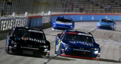 Josh Williams drives No. 36 Chevrolet Camaro to 14th-place finish at Texas Motor Speedway