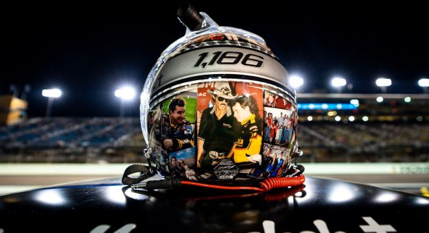 Joe Nemechek Helmet Miami Starts