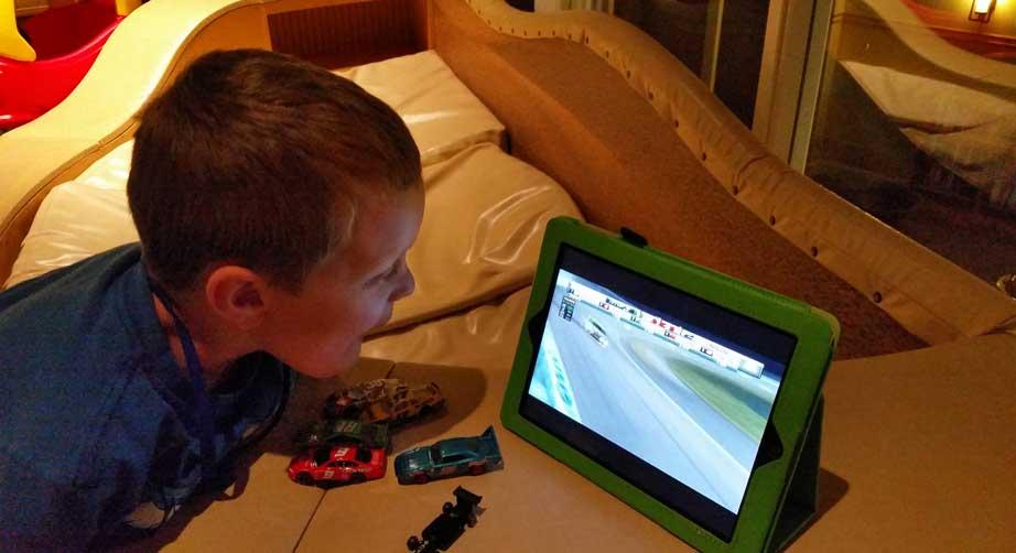 Travis Nascar Race Cars