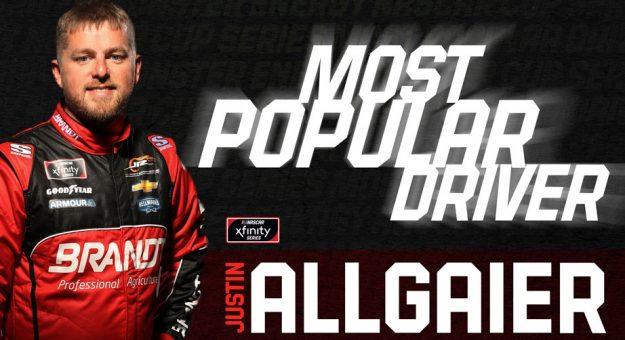 Justin Allgaier graphic