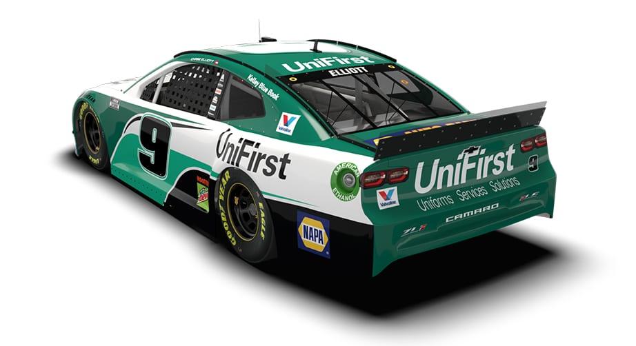Elliott to run new UniFirst paint scheme in 2020
