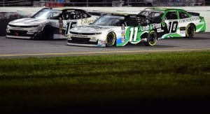 Kaulig Racing cars at Daytona