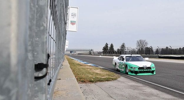 DiBenedetto finds positives in Xfinity Series' first test at Indy road course