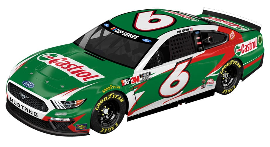 Roush Fenway Racing signs Castrol as official partner, No. 6 sponsor