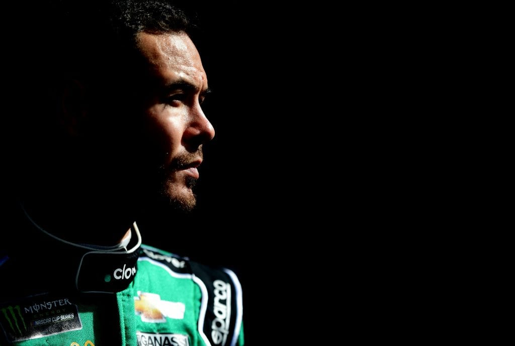 AVONDALE, ARIZONA - NOVEMBER 09: Kyle Larson, driver of the #42 Clover Chevrolet, looks on prior to qualifying for the Monster Energy NASCAR Cup Series Bluegreen Vacations 500 at ISM Raceway on November 09, 2019 in Avondale, Arizona. (Photo by Jared C. Tilton/Getty Images)   Getty Images