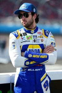 AVONDALE, ARIZONA - NOVEMBER 09: Chase Elliott, driver of the #9 NAPA Autocare Center Chevrolet, stands on the grid during qualifying for the Monster Energy NASCAR Cup Series Bluegreen Vacations 500 at ISM Raceway on November 09, 2019 in Avondale, Arizona. (Photo by Jared C. Tilton/Getty Images) | Getty Images