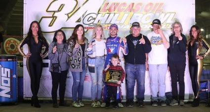 Kyle Larson wins second qualifying night at Chili Bowl; Christopher Bell earns Race of Champions win