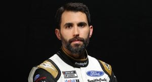CHARLOTTE, NORTH CAROLINA - JANUARY 28: Aric Almirola poses for a photo during NASCAR Production Days at Charlotte Convention Center on January 28, 2020 in Charlotte, North Carolina. (Photo by Chris Graythen/Getty Images) | Getty Images