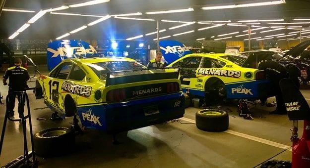 Ryan Blaney Backup Daytona 500