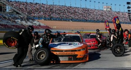 Josh Williams finishes 13th at Las Vegas Motor Speedway