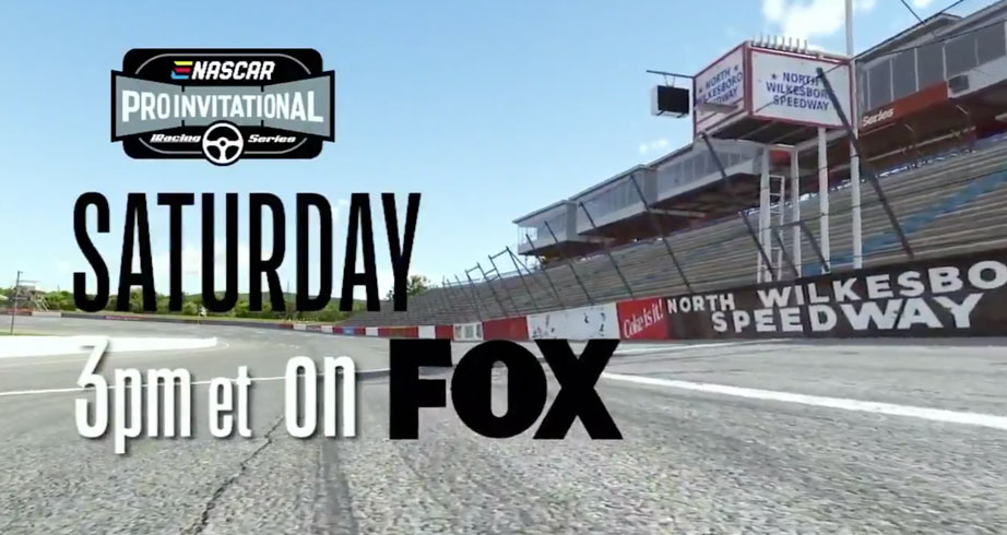 NASCAR returns to North Wilkesboro with iRacing