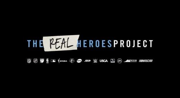 Realthe Real Hero Logos Lockup Horizontal