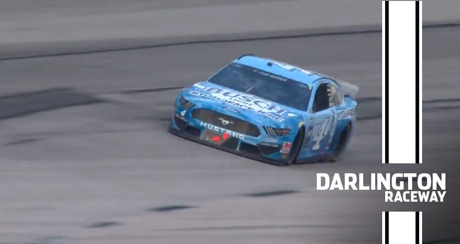 Kevin Harvick holds on for the big 5-0