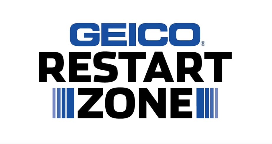 GEICO Restart Zone: Four wide the name of the game at Charlotte