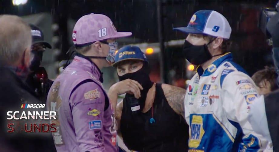 Scanner Sounds: Inside Elliott's and Busch's helmets