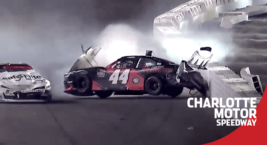 Gragson triggers the 'Big One' at Charlotte