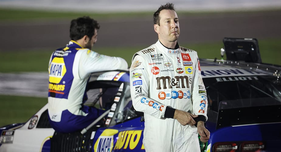 Kyle Busch sheds light on his post-race conversation with Chase Elliott