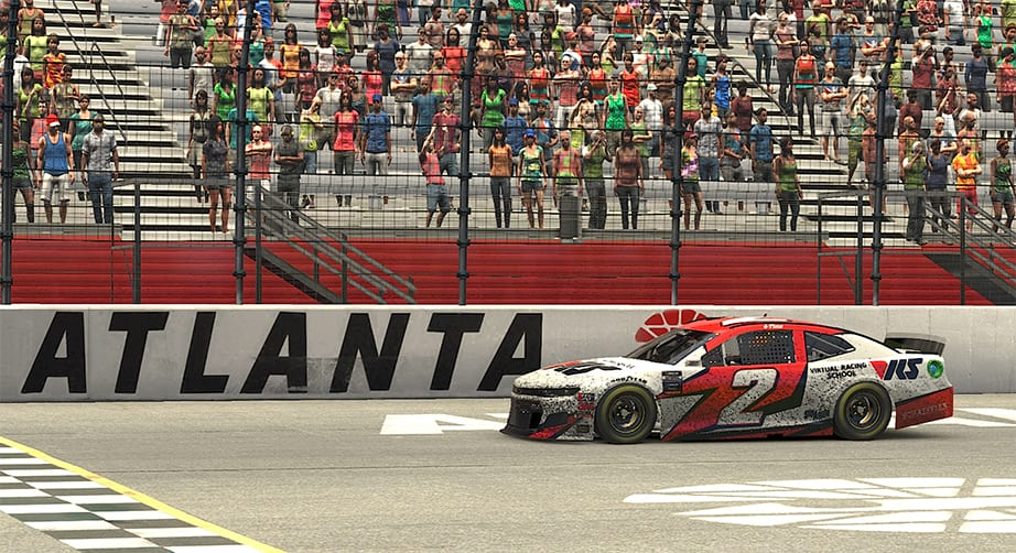 Ray Alfalla wins Coca-Cola Series race at Atlanta