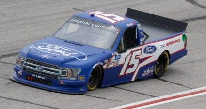Tanner Gray grabs 11th place at Atlanta Motor Speedway