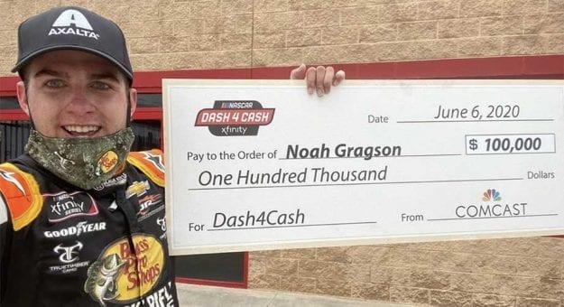 Noah Gragson Dash 4 Cash Atlanta