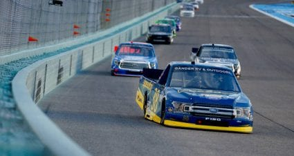 Todd Gilliland finishes sixth at Homestead-Miami Speedway