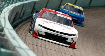 Jesse Little drives No. 4 Chevrolet Camaro to 15th-place finish at Homestead-Miami Speedway