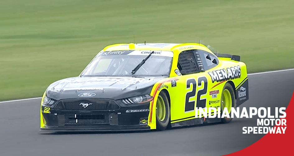 Austin Cindric penalized for restart violation at Indianapolis
