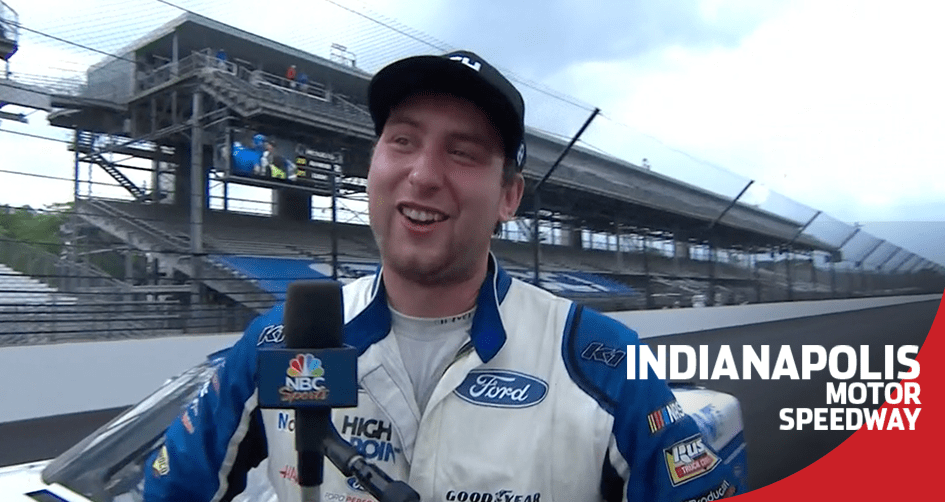 Briscoe reflects on 'special' win at his home track