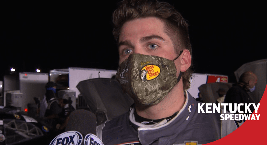 Gragson on post-race fight with Burton: 'We're all racing hard'