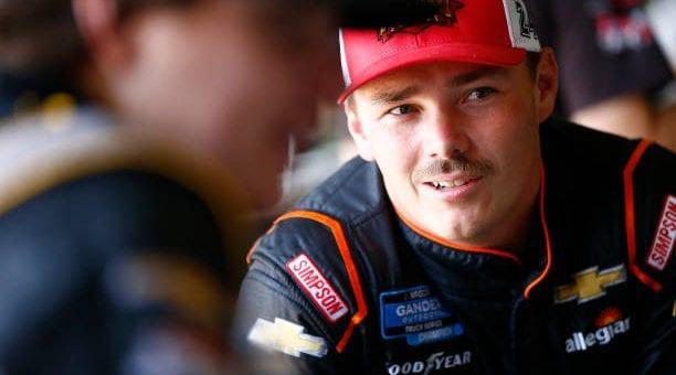 Brett Moffitt Drives No 23 Chevrolet Silverado To Second Place Finish At Kansas Speedway.jpg